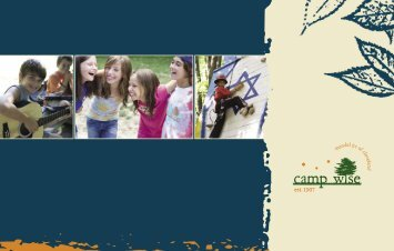 Camp Brochure - Camp Wise