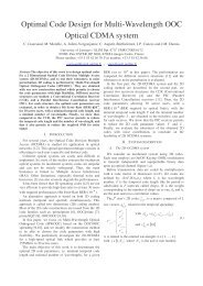Optimal Code Design for Multi-Wavelength OOC Optical CDMA system