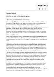 Talent- und Potentialanalyse für Unternehmen - leonardo 345