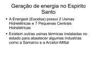 Geração de energia elétrica no Brasil e no