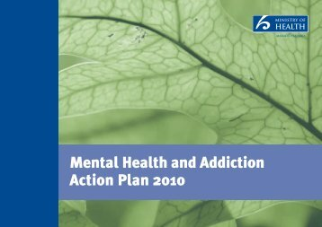 Mental Health and Addiction Plan - New Zealand Doctor