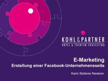 Download Erstellung einer Facebook Unternehmensseite
