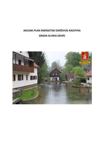 Grad Slunj - Gradski ured za energetiku, zaštitu okoliša i održivi razvoj