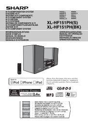 XL-HF151PH(S)/(BK) Operation-Manual GB