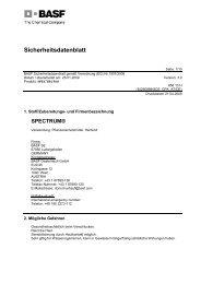 SDB Spectrum Aqua-Pack - BASF Pflanzenschutz Österreich