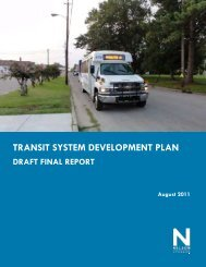 TRANSIT SYSTEM DEVELOPMENT PLAN - JUMPO
