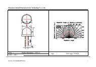 Shenzhen chunfa Photoelectricity Technology Co., Ltd.