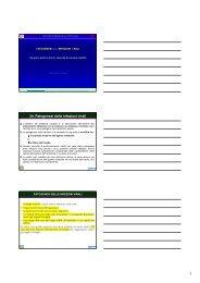 34. Patogenesi delle infezioni virali - Sezione di Microbiologia