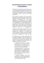 UNA METODOLOGIA PARA EL ESTUDIO Por Marcos Villanueva El ...
