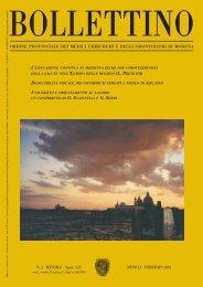 Febbraio 2002 (pdf - 478 KB) - Ordine Provinciale dei Medici ...