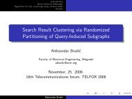 Search Result Clustering via Randomized Partitioning of Query ...