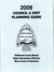 philmont high adventure expeditions - Philmont Document Archives