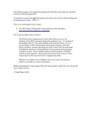 Richard de Neufville's TPP SM Thesis Manual - Title Page - MIT
