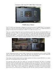 Improved Amplifier Interfacing for the Yaesu Mark V FT     - VA3CR