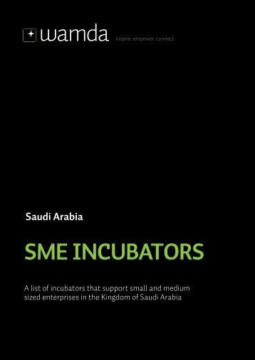 Saudi Arabia SME INCUBATORS - Wamda.com