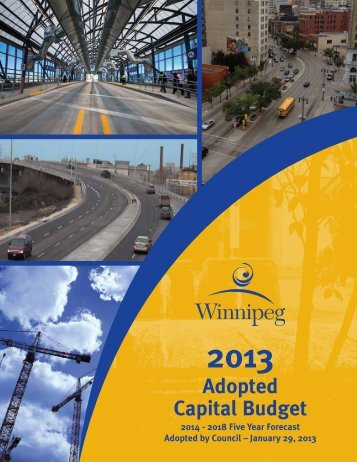 2013 Adopted Capital Budget