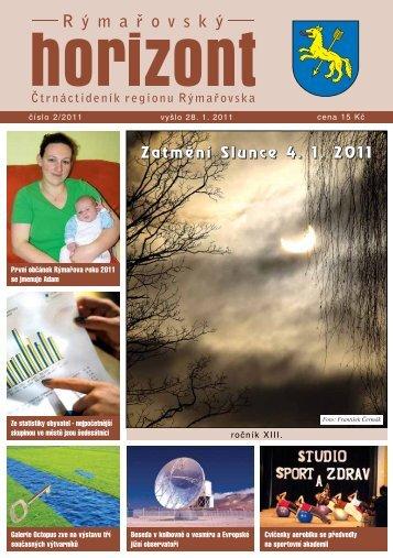 Rýmařovský horizont 2 - 2011 - Středisko volného času Rýmařov