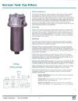 8100 series Catalog - Norman Filters - Page 2