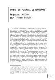 France : un potentiel de croissance : perspectives... - ResearchGate