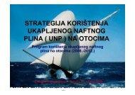 Strategija korištenja UNP na otocima - EE