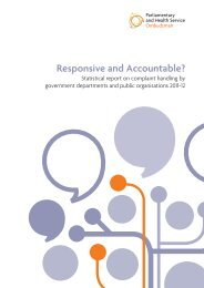 Responsive and Accountable? - the Parliamentary and Health ...