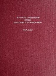 Baroque Period to the Twentieth Century - Columbus State University