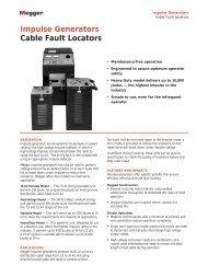Impulse Generators Cable Fault Locators - Surgetek