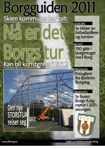 Borgguiden 2011 | Følg med på www.ifborg.no