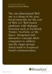 Brands and Social Media - Branders