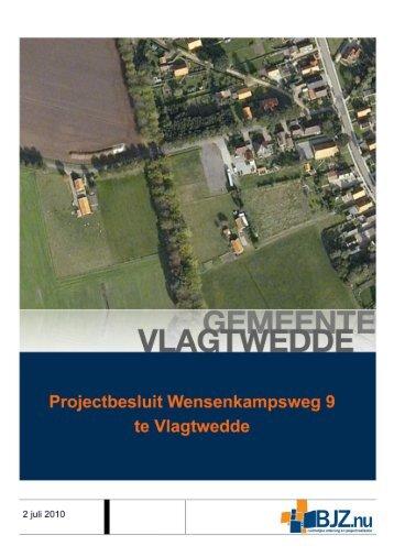 Ruimtelijke Onderbouwing - Gemeente Vlagtwedde