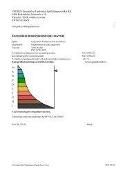 Energetikai minőségtanúsítvány összesítő - Lengyeltóti