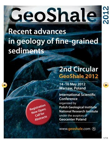 Recent advances in geology of fine-grained sediments