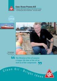 Marine Case, Ocean Prawns A/S - Cjc.dk