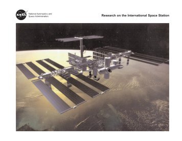 Research on the International Space Station (pdf ... - ER - NASA