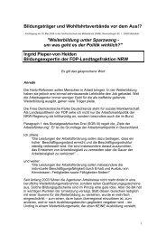 Ingrid Pieper - von Heiden - Bundesverband der Träger beruflicher ...