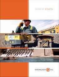 CODE OF ETHICS - Antofagasta plc