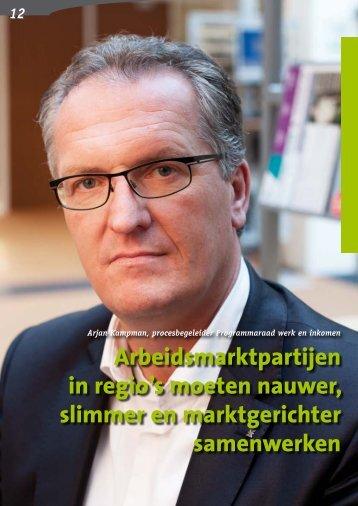 Over Arjan Kampman - Regionaal Bureau Onderwijs