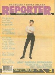 Februari 1992 Pris 30:· - QX