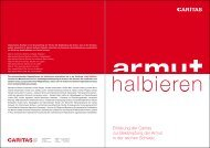 "Erklärung ""Armut halbieren"" - CARITAS - Schweiz"