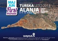 alanja first minute - leto 2013 - Wayout