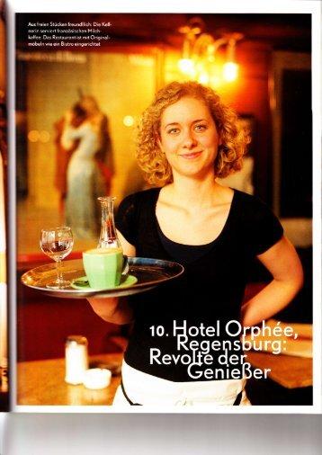 Weiter... - Hotel Orphee