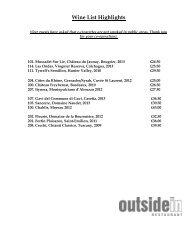 Wine List 2013 - Beales Hotels