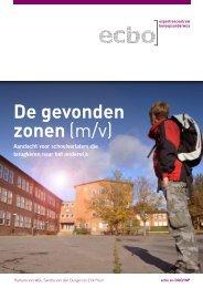 Onderzoek ECBO 'De gevonden zonen (m/v)' - Aanval op schooluitval