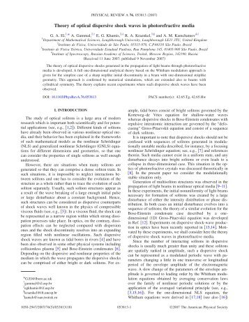 Theory of optical dispersive shock waves in photorefractive media