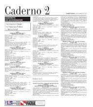 CADERNO 2 1 QUARTA-FEIRA, 20 DE JUNHO DE 2012 Caderno 2 ...