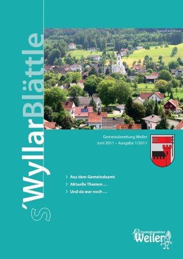 04/10-06/1 Ausgabe - Gemeinde Weiler