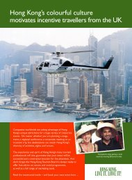 Tragus - Discover Hong Kong