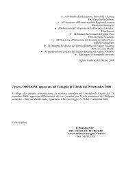 mozione del consiglio di circolo - Circolo Didattico Figline Valdarno