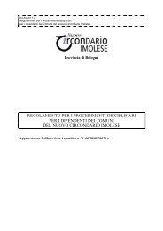 Allegato 1_ REGOLAMENTO DISCIPLINA NCI - comune.imola.bo.it