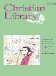In defense of series books - Christian Library Journal
